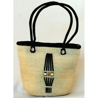Fair Trade Hand woven African Sisal Bucket Bag (Kenya)