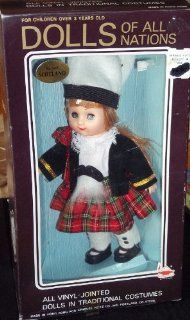 DOLLS Of All Nations No.140 Scotland Series 1 Dolls For