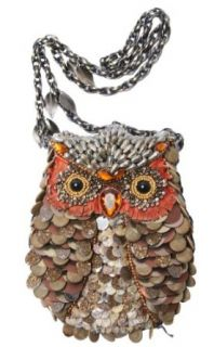 Mary Frances What A Hoot Owl Copper Brown Convertible