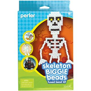Perler Fun Fusion Biggie Bead Skeleton Activity Kit