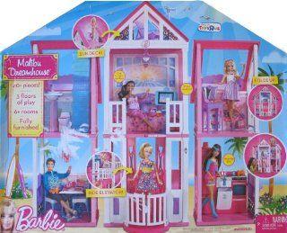 Barbie MALIBU DREAMHOUSE Playset DREAM HOUSE w 40+ Pieces