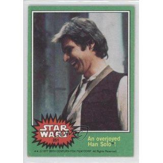 overjoyed Han Solo (Trading Card) 1977 Star Wars #251