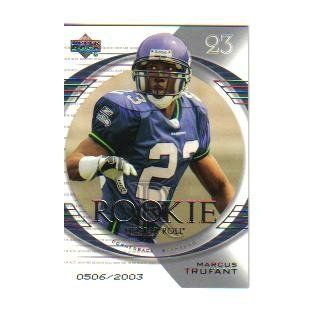 2003 Upper Deck Honor Roll #141 Marcus Trufant RC/2003 Collectibles