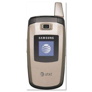 Samsung C417 Gold GSM Unlocked Flip Cell Phone