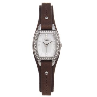 Fossil Womens Marjorie Leather Strap Watch