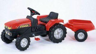 Falk Trettraktor Traktor Kindertraktor rot Spielzeug