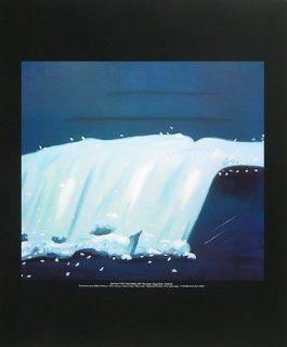 Alex Katz Poster Kunstdruck Blaue Welle Küche & Haushalt