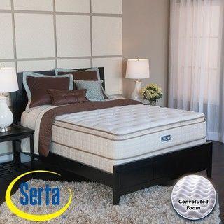 Serta Bristol Way Pillowtop Twin size Mattress and Box Spring Set
