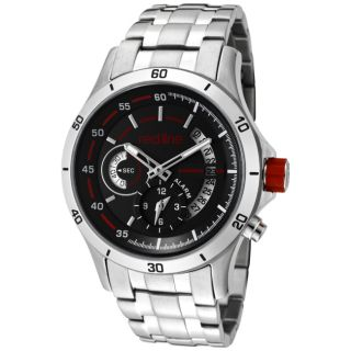 Red Line Mens Tech Stainless Steel Watch