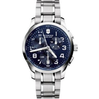 Swiss Army Mens Alliance Chrono Blue Dial Watch