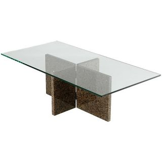 Tropical Brown Granite Coffee Table