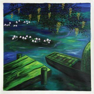 Dang Manh Ha Tinh Lang Canvas Painting (Vietnam)