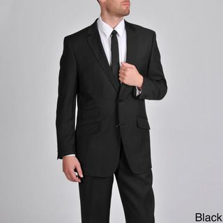 Martin Gordon Mens Single Breasted Suit with Flat Front Pants