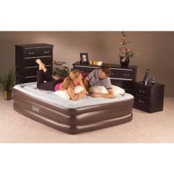 Double High QuickBed Queen size Air Bed Electric Pump Combo