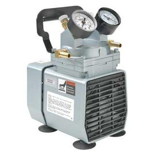 Gast DOA P704 AA Compressor/Vacuum Pump, 1/8 HP, 115 VAC
