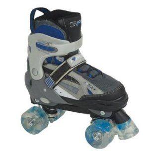 SFR Typhoon Childrens Einstellbare Quad Roller Skates   Blau  Farbe