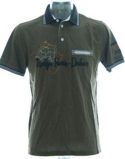 JACKY ICKX® Poloshirt Pikee Polo T Shirt  Rallye Paris Dakar