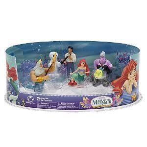 Disney Figuren Set Arielle   Die Meerjungfrau mit URSULA SEBASTIAN