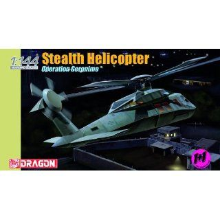 Dragon Models 1/144 Stealth Helicopter (Twin Pack) Toys