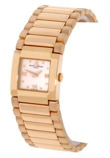 Baume & Mercier Womens 18k Gold Catwalk Watch