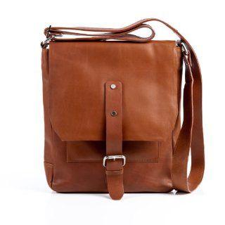 Messenger Bag JACKSON von FEYNSINN, Kuriertasche (ipad) cognac braun