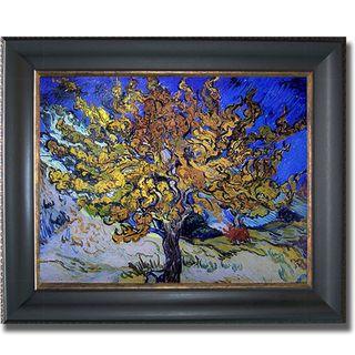 Vincent Van Gogh Mulberry Tree Framed Canvas Art