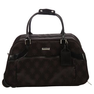 Isabelle Fiore Signature 23 inch Rolling Upright Duffel Bag