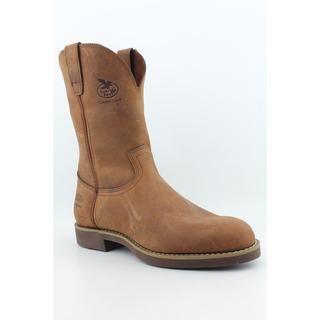 Georgia Mens Wellington C/C Farm & Ranch Leather Boots (Size 9