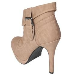 Journee Collection Womens SIMBA 21 Heeled Ankle Boots