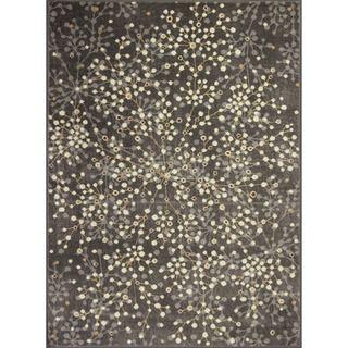 Allestra Blossoming Grey Rug (4 x 6)