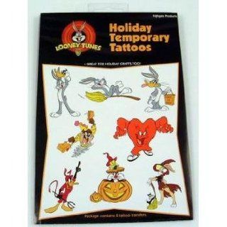 Halloween Looney Tunes Temporary Tattoos (144 Pack)