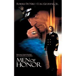 Men of Honor [VHS] Robert De Niro, Cuba Gooding Jr., Charlize Theron