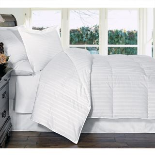 Asuka Beauty Stripe White Goose Down Comforter