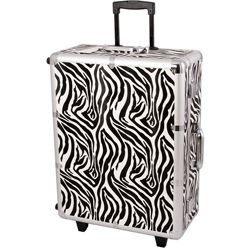 Sunrise Zebra Rolling Makeup Train Case Today $438.68