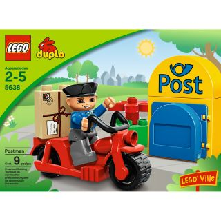 LEGO Duplo Postman Toy Set
