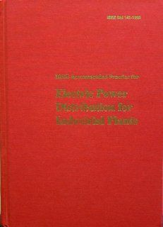 IEEE Std 141 1993, IEEE Recommended Practice for Electric Power