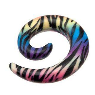SL Spirale Taper Expander Dehnstab getigert Rainbow Durchmesser