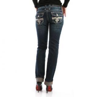 Rock Revival Jeans Women   TORI   Blue: Bekleidung