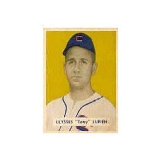 1949 Bowman #141 Tony Lupien RC   VG EX Collectibles