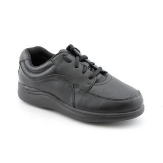 Hush Puppies Womens Power Walker Leather Athletic Shoe Wide
