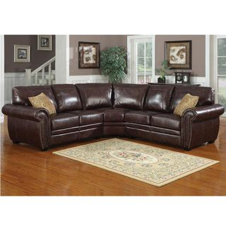 Louis 3 piece Sectional Sofa