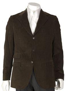 Dolce & Gabbana Brown 3 button Corduroy Blazer