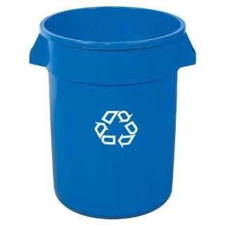 Brute® Blue Recycling Container, 32 Gallon (RUB141