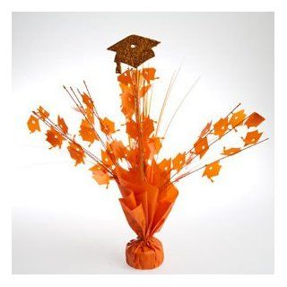 Orange Graduation Cap Centerpieces Toys & Games