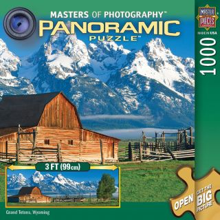 1000 Piece Masters Of Photography Grand Tetons Panoramic Puzzle