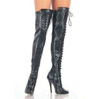 DOMINA 3023, High Heels Overknee Stiefel schwarz , Größe:43.5