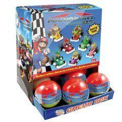 Tomy TM994   Überraschungskugeln Super Mario Kart Pullback Auto
