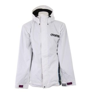 Nomis Mens XL Touch White Denim Snowboard Jacket