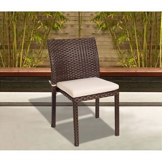 Atlantic Liberty Wicker Stacking Chair (Set of 4) Compare $758.81