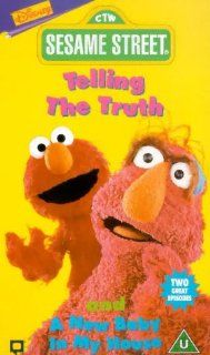 Sesame Street   Telling The Truth/a New Baby[VHS] [UK Import] Jim